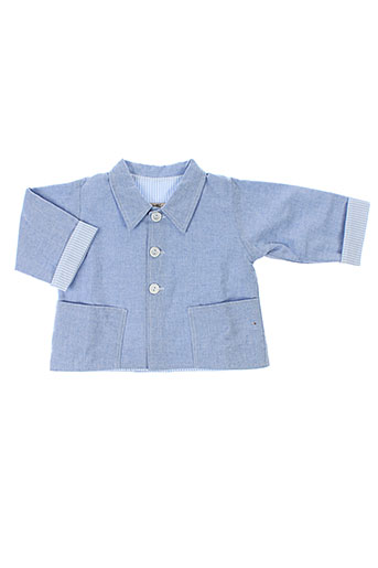 Veste casual bleu CHEZ FLORENCE pour garçon
