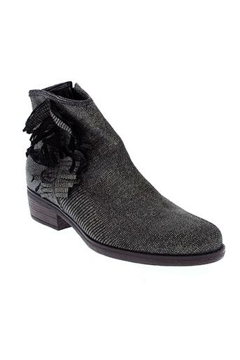 gaimo boots femme de couleur noir
