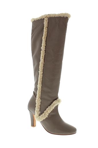 paul et joe bottes femme de couleur gris