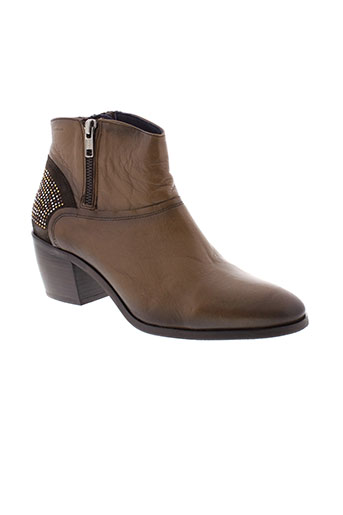 dorking boots femme de couleur marron