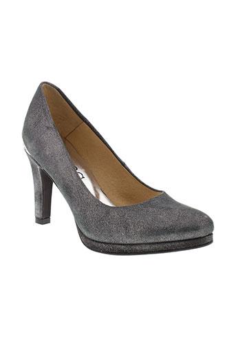myma escarpins femme de couleur gris