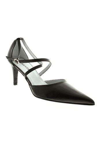 ohannes escarpins femme de couleur noir