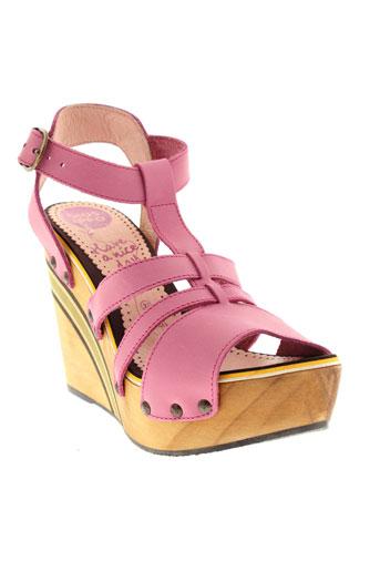 gioseppo sandales et nu et pieds femme de couleur rose