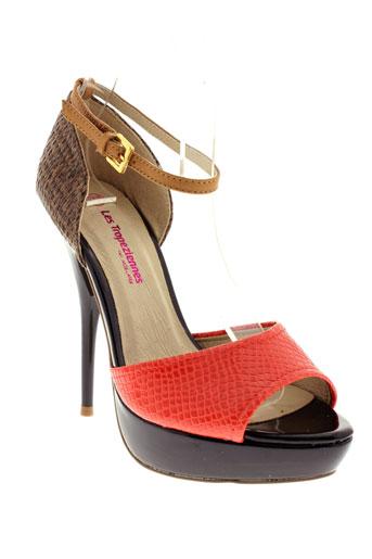 les tropeziennes par m.belarbi chaussures femme de couleur orange