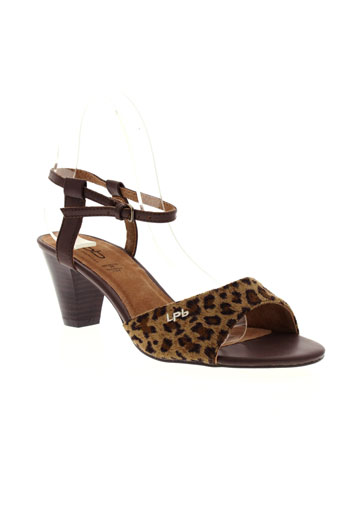 les p'tites bombes chaussures femme de couleur marron