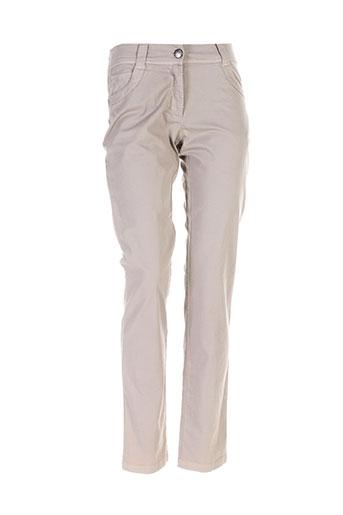 aventures des toiles pantalons femme de couleur gris