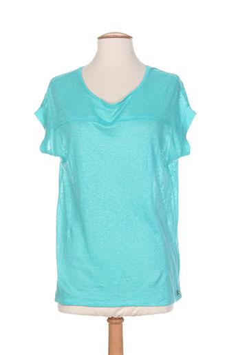 freeman t.porter chemises femme de couleur bleu