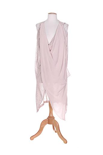 colour 5 power tuniques femme de couleur rose