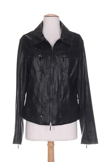 3322 vestes femme de couleur noir (photo)
