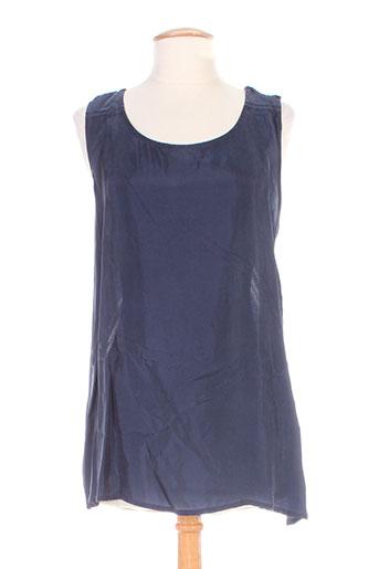 colour 5 power chemises femme de couleur bleu
