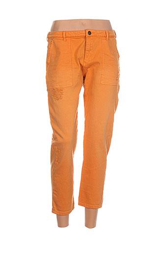 scotch EFFI_CHAR_1 soda pantacourts femme de couleur orange