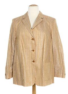 Veste casual beige BASLER pour femme