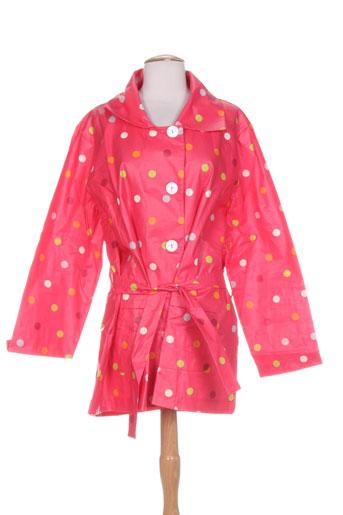 k-a-n-o-u manteaux femme de couleur rose