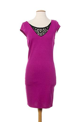 vila robes femme de couleur rose