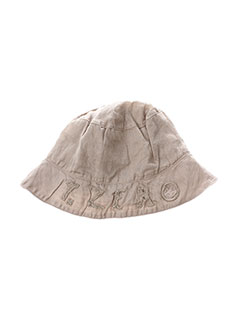 Chapeau beige TAILLE 0 pour garçon