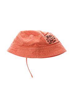 Chapeau orange IKKS pour garçon