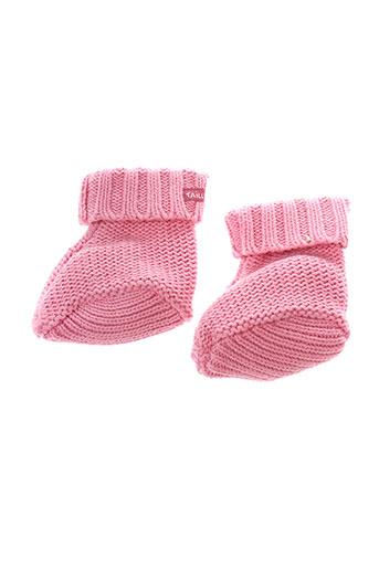 taille 0 chaussures fille de couleur rose