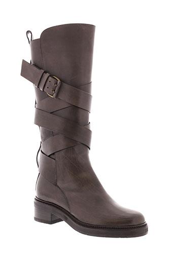 sartore bottes femme de couleur gris