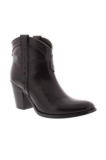 sartore boots femme de couleur noir