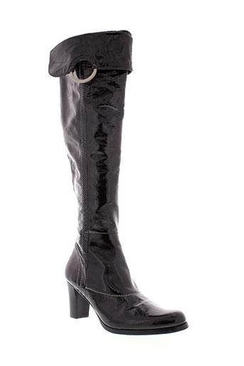 accessoire et diffusion bottes femme de couleur noir
