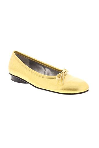 parallele chaussures femme de couleur jaune