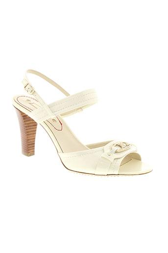celine sandales et nu et pieds femme de couleur beige