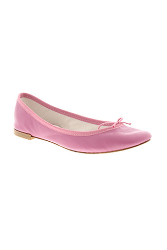 repetto ballerines femme de couleur rose