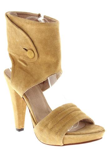 vero cuio chaussures femme de couleur beige