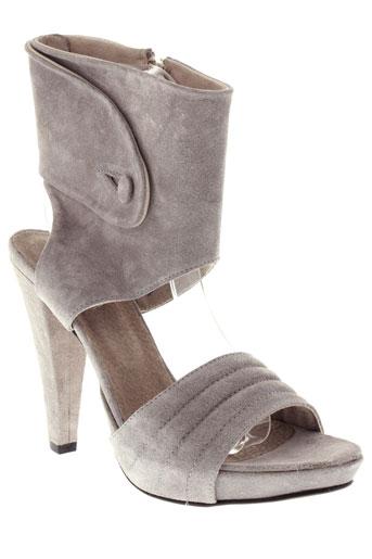 vero cuio chaussures femme de couleur gris