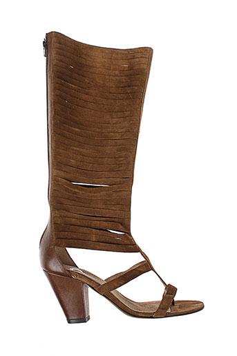 Sandales/Nu pieds marron V M pour femme