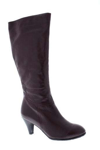 relax bottes femme de couleur marron
