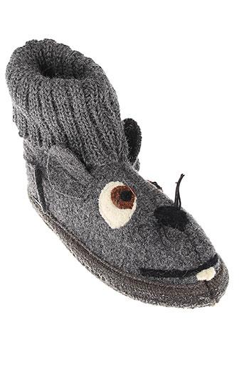 mod 8 chaussures enfant de couleur gris