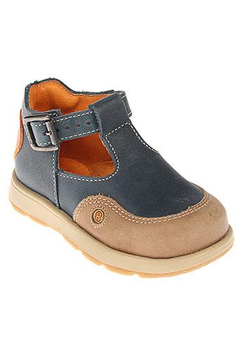 mod 8 chaussures garçon de couleur bleu
