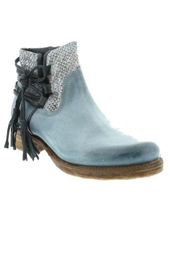 a et s et 98 boots femme de couleur bleu