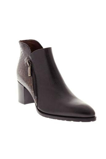 muratti boots femme de couleur noir