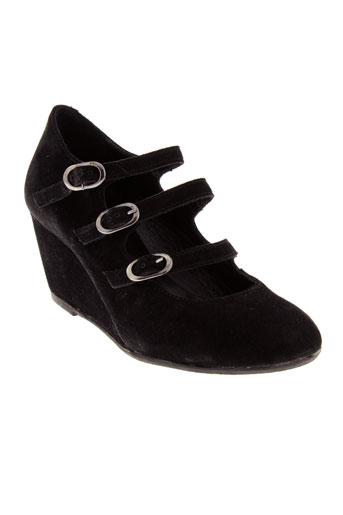 pam project chaussures femme de couleur noir