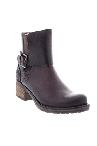 connivence boots femme de couleur marron