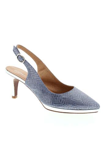 estefania marco chaussures femme de couleur bleu