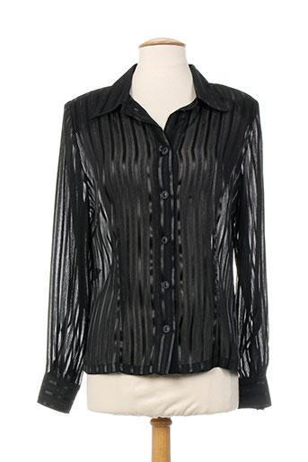 sodrap chemises femme de couleur noir