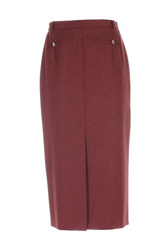 20 et 20 jupes et longues femme de couleur rouge (photo)