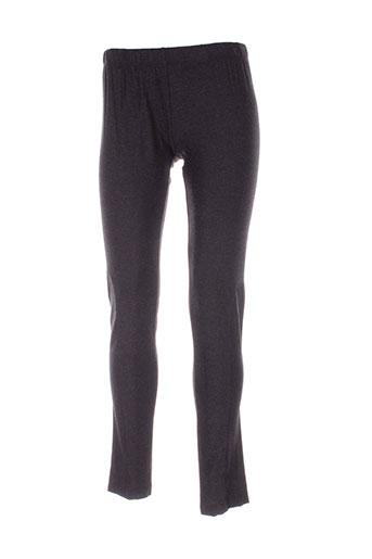 griffonnage pantalons femme de couleur gris