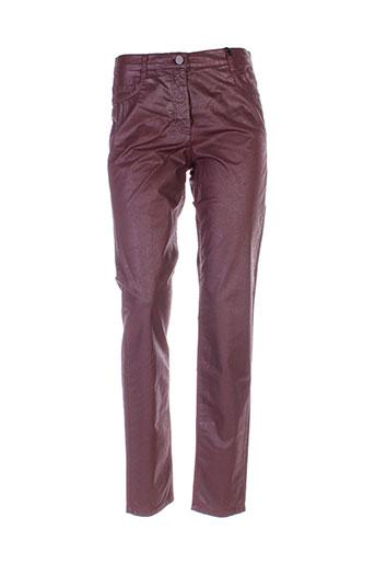 betty barclay pantalons femme de couleur rouge