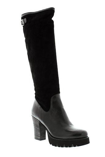 now bottes femme de couleur noir