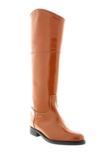 utopie chaussures femme de couleur orange