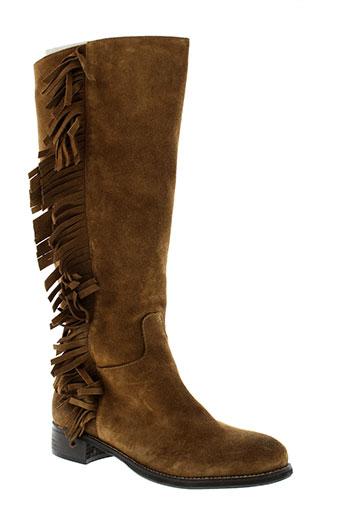 morena gabbrielli chaussures femme de couleur marron