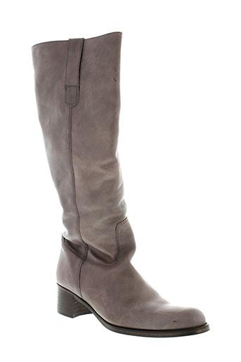 minka et design bottes femme de couleur marron