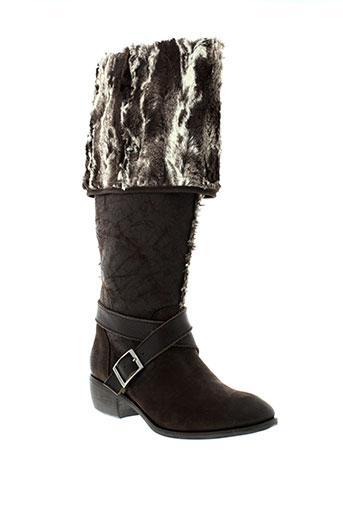 filipe et sousa bottes femme de couleur marron