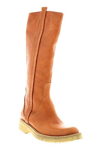 r et renzi bottes femme de couleur marron