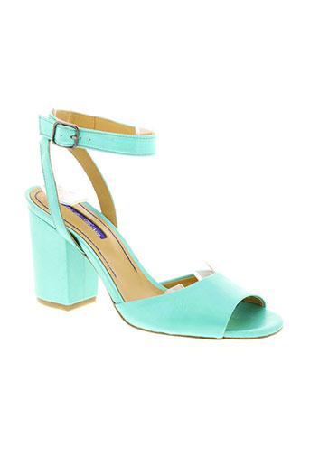 atelier voisin chaussures femme de couleur vert
