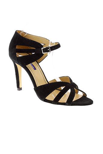 atelier et voisin sandales et nu et pieds femme de couleur noir